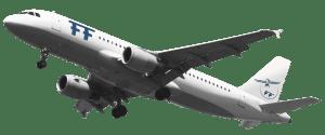Fachschule für Tourismus - FF-Flugzeug