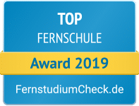 Fernstudiumcheck Award 2019 Top Fernschule
